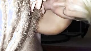 Mujer madura follada con cáncer después de una mamada muy jugosa con saliva
