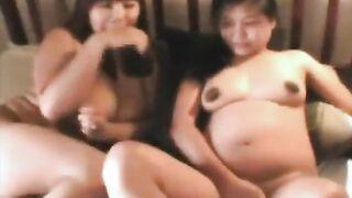 Un hombre jodido y terminó dos Bashkirok embarazadas