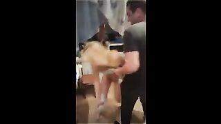 Esposo fluye en Periscope mientras un tártaro molesta a su esposa sexual